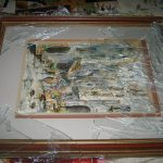 How Not to Package a Glass Framed Picture!